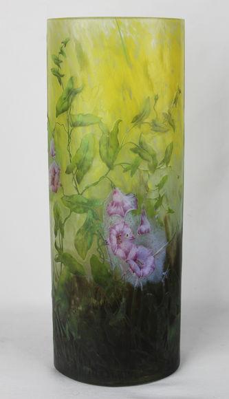 """Арт-студия """"Кентавр"""" - Ваза с цветочным орнаментом №012605"""