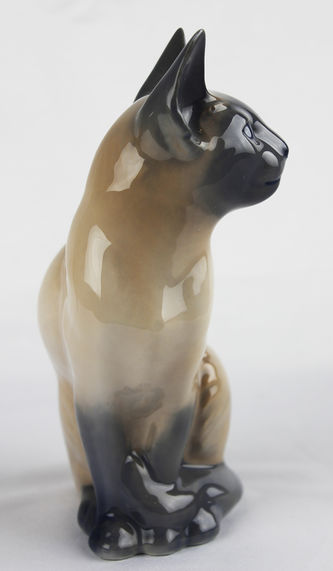 """Арт-студия """"Кентавр"""" - Фарфоровая статуэтка """"Сиамская кошка"""" №012826"""