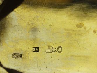 """Арт-студия """"Кентавр"""" - Серебряный портсигар с чернью """"Московский Кремль"""" №012830"""