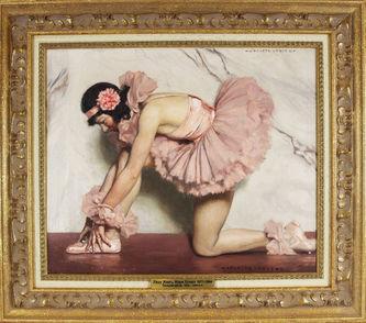 "Арт-студия ""Кентавр"" - Леру Жюль Мари Огюст (1871-1954) - ""Танцовщица"" 1920-1930-е годы №012860"