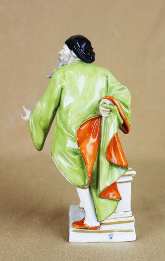 "Арт-студия ""Кентавр"" - Статуэтка ""Панталоне"" из серии ""Commedia dell""Arte"" (""Комедия Дель Арте""). 1774-1790 гг (период Марколини) №013055"