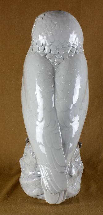 """Арт-студия """"Кентавр"""" - Большая фарфоровая статуэтка """"Сова"""" №013087"""