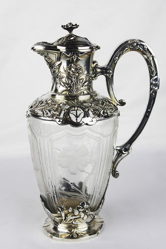 """Арт-студия """"Кентавр"""" - Старинный серебряный графин в стиле модерн №013171"""