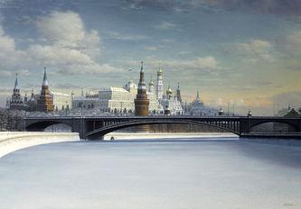 "Арт-студия ""Кентавр"" - ""Зима в Москве"" №013246"