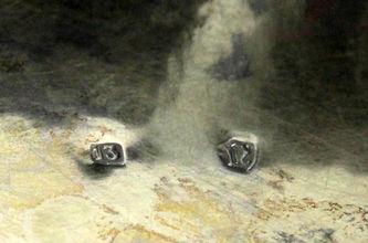 """Арт-студия """"Кентавр"""" - Серебряная кружка пивная с изображением военной темы №013309"""