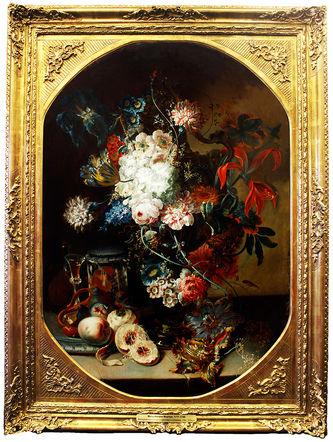 """Арт-студия """"Кентавр"""" - """"Большой натюрморт с цветами и фруктами"""" №013379"""