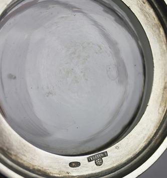 """Арт-студия """"Кентавр"""" - Антикварный серебряный подстаканник в стиле модерн №013544"""