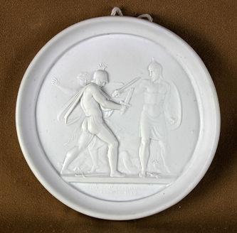 """Арт-студия """"Кентавр"""" - Парные панно с изображением исторических сцен войны 1812 года №013550"""