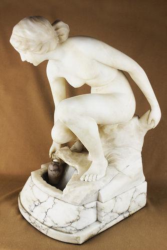 """Арт-студия """"Кентавр"""" - Мраморная скульптура """"Нимфа"""" №013566"""