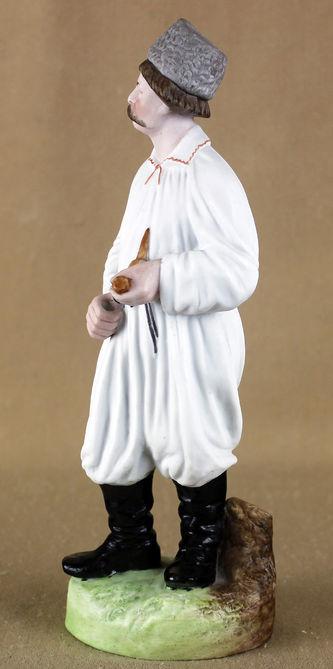 """Арт-студия """"Кентавр"""" - Статуэтка """"Украинский хлопец с трубкой"""" №013683"""