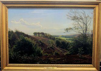 """Арт-студия """"Кентавр"""" -  """"Летний день в Дирехавене"""", 1871г. №013758"""