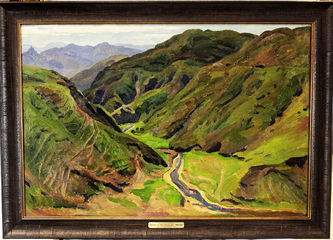 """Арт-студия """"Кентавр"""" - """"Ущелье в горах Армении"""" №013786"""