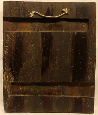 """Арт-студия """"Кентавр"""" - Старинная подписная икона """"Святитель Николай Чудотворец"""" №013845"""