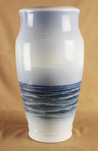 """Арт-студия """"Кентавр"""" - Старинная ваза с изображением парусников №013987"""