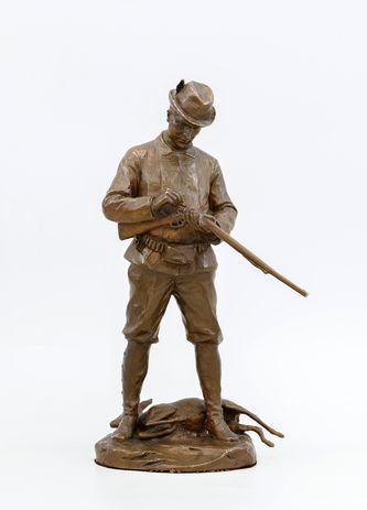 """Арт-студия """"Кентавр"""" - Старинная бронзовая скульптура """"Охотник"""" №014135"""