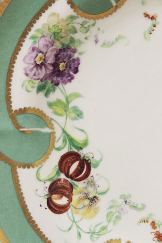 """Арт-студия """"Кентавр"""" - Декоративная тарелка с изображением цветов №014218"""