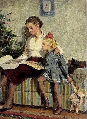 "Арт-студия ""Кентавр"" - ""Накануне Рождества"" №014235"