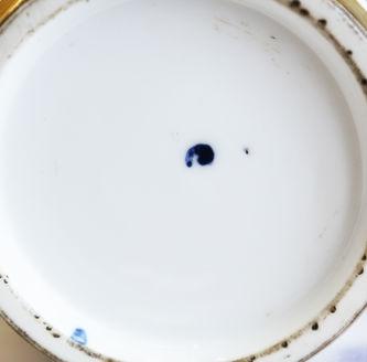 """Арт-студия """"Кентавр"""" - Старинный фарфоровый штоф.1790-1800-е годы №014294"""