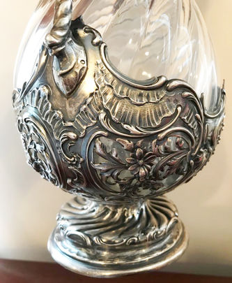 """Арт-студия """"Кентавр"""" - Серебряные парные кувшины в стиле барокко №014372"""