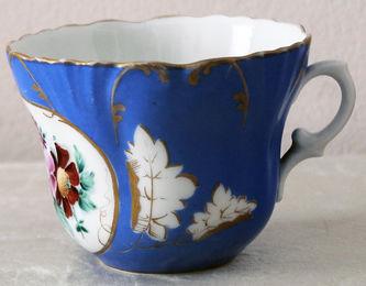 """Арт-студия """"Кентавр"""" - Чайная пара с изображением цветов №014407"""
