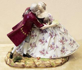 """Арт-студия """"Кентавр"""" - Фарфоровая статуэтка """"Дама и кавалер"""" №014435"""