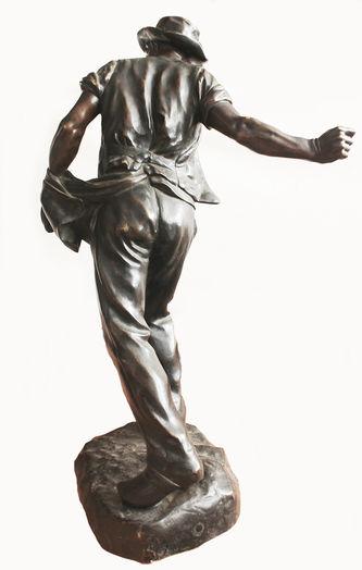 """Арт-студия """"Кентавр"""" - Бронзовая скульптура """"Сеятель"""" №014455"""