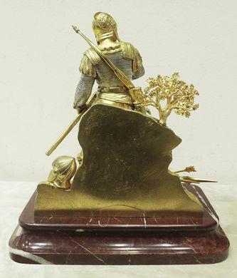 """Арт-студия """"Кентавр"""" - Бронзовая скульптура """"Богатырь с мечом и луком"""" №014591"""