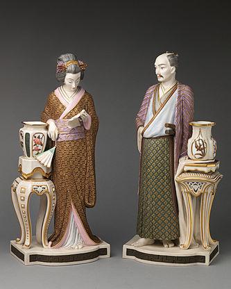 """Арт-студия """"Кентавр"""" - Парные фигуры «Японская пара в национальных одеждах» №014621"""