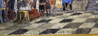 """Арт-студия """"Кентавр"""" - Эскиз к постановке балета """"Лебединое озеро"""" №014630"""