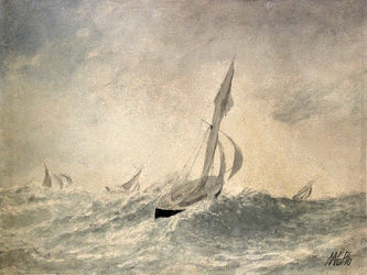 """Арт-студия """"Кентавр"""" - """"Яхты в море. Выборг"""" №014654"""
