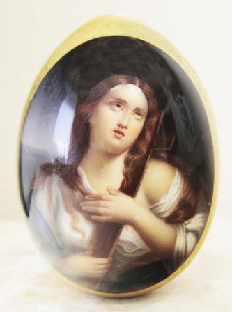 """Арт-студия """"Кентавр"""" - Большое пасхальное яйцо """"Святая Мария Магдалина"""" №014697"""