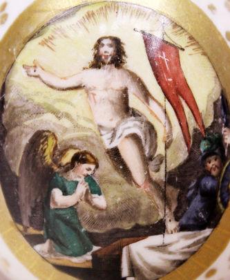 """Арт-студия """"Кентавр"""" - Пасхальное яйцо """"Воскресение Христово"""" №014723"""