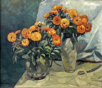 "Арт-студия ""Кентавр"" - ""Цветы в вазах"" №014765"