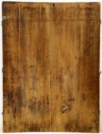 """Арт-студия """"Кентавр"""" - Старинная икона """"Архистратиг Михаил и святой Иов"""" в окладе №014897"""