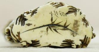"""Арт-студия """"Кентавр"""" - Окимоно в виде флакончика с ложечкой со священной японской рыбой - карпом кои №014984"""