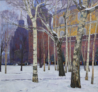 """Арт-студия """"Кентавр"""" - «У стен Московского Кремля» №014986"""