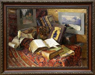 """Арт-студия """"Кентавр"""" - «Старые книги»  №014987"""