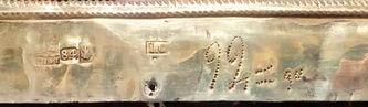 """Арт-студия """"Кентавр"""" - Старинная икона """"Богоматерь Смоленская"""" в окладе с предстоящими №015040"""