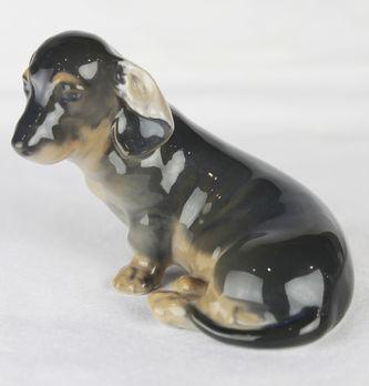"""Арт-студия """"Кентавр"""" - Фарфоровая статуэтка собаки породы """"Такса"""" №015216"""