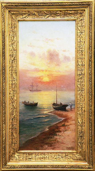 "Арт-студия ""Кентавр"" - ""Рассвет на море"" №015247"