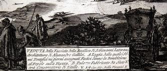 """Арт-студия """"Кентавр"""" - """"Вид базилики Сан Джованни Латерано в Риме"""" №015340"""