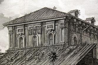 """Арт-студия """"Кентавр"""" - """"Вид базилики Сан Лоренцо Фуори ле Мура в Риме"""" №015341"""