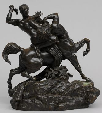 "Арт-студия ""Кентавр"" - Скульптура бронзовая ""Тесей, сражающийся с кентавром Бенором"" №003388"