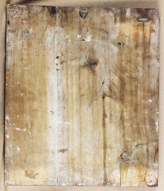"""Арт-студия """"Кентавр"""" - Старинная икона Святые Пантелеймон, Ефим, Николай, Евдокия №008502"""