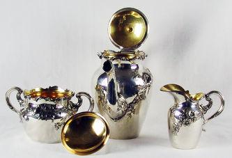 "Арт-студия ""Кентавр"" - Сервиз чайный в стиле модерн (Ар-Нуво) №009051"