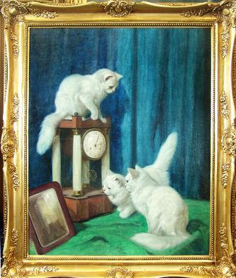 """Арт-студия """"Кентавр"""" - """"Три любопытных кошки"""" №009184"""
