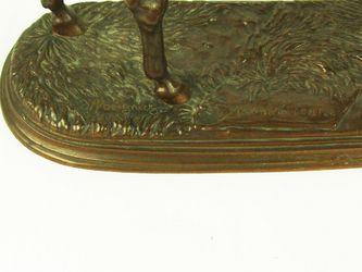 "Арт-студия ""Кентавр"" - Скульптура бронзовая ""Жокей на лошади""  1860-е годы №009559"
